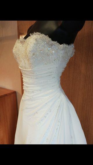 vestido de novia de marca de segunda mano en murcia en wallapop
