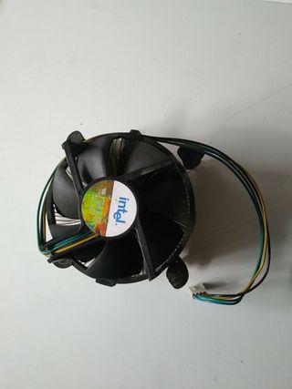 Disipador + ventilador intel