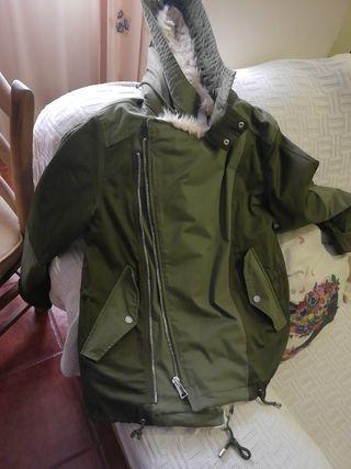 abrigo mujer zara talla xl