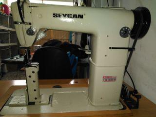 Maquina de coser zapatos alta