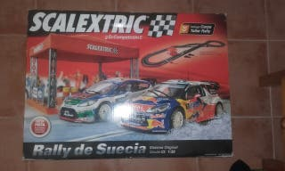 Scalextric Rally de Suecia