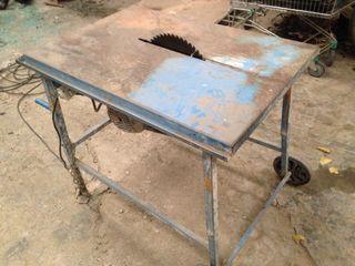 Mesa de cortar madera