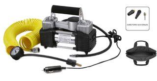 Compresor de aire portátil 12 Voltios-2 Cilindros