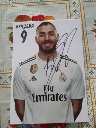 postales de jugadores del Real Madrid 2018/2019