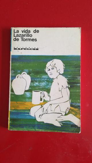 """Libro""""La vida de Lazarillo de tormes"""""""