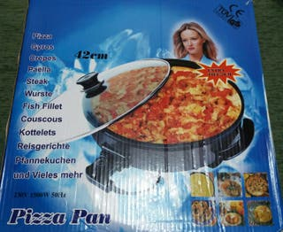 PIZZA PAN eléctrica