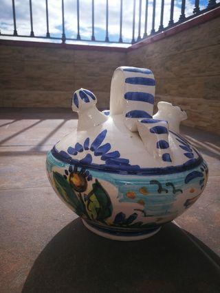 Jarrones cerámica de Italica