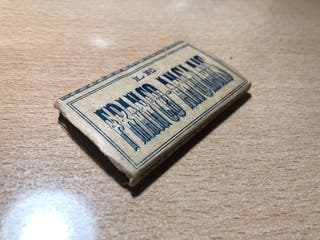 Papel de fumar coleccion ( años 20 )