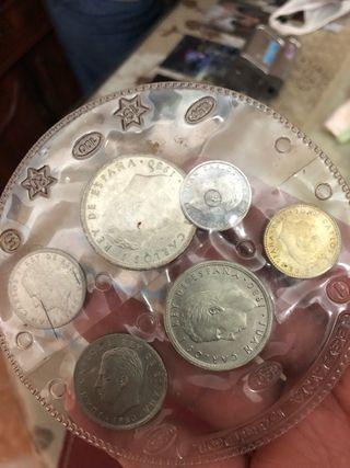 Colección monedas mundial
