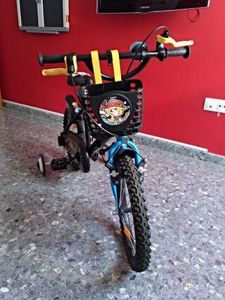 bicicleta, bici, niño.