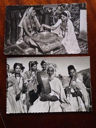 2 postales años 50