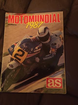 Revista Motomundial 1987 AS.