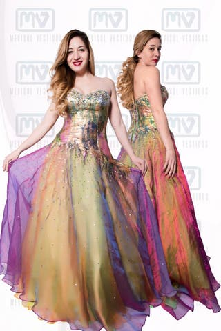 Alquiler vestidos madrina en madrid