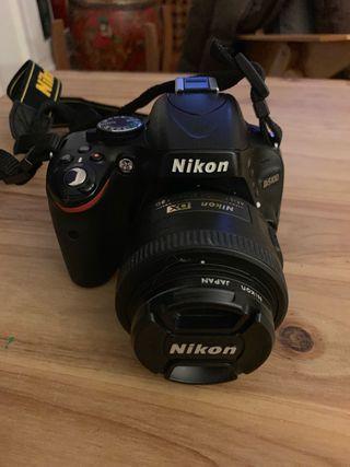 Nikon D5100 + objetivo