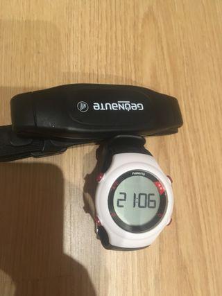 Reloj con banda pulsometro