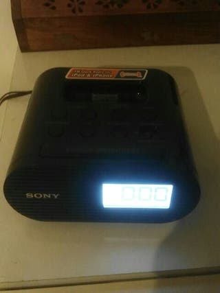 sony despertador ipod & iphone