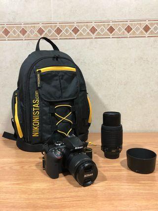 Cámara Nikon 3300P5