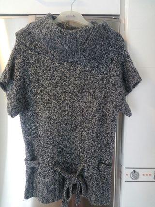 Jersey largo manga corta