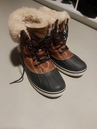 Botas Crocs Hombre Nieve/Agua