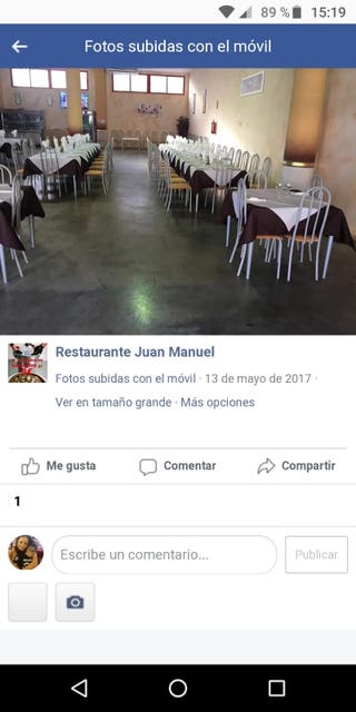 traspaso restaurante
