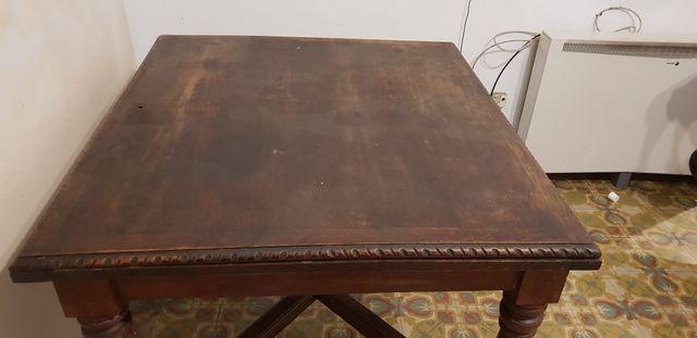 Mesa comedor antigua de segunda mano por 150 € en Gijón en WALLAPOP