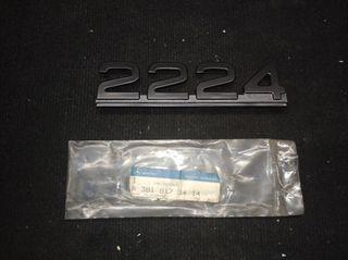 ANAGRAMA CAMIÓN MERCEDES BENZ 2224