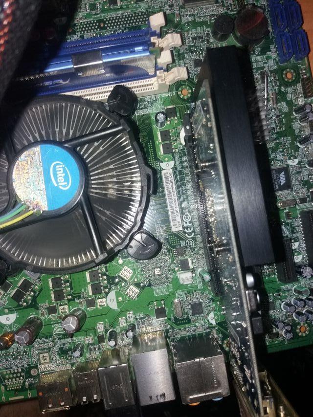 Placa base ddr3 +intel i7 860