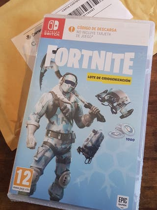 NINTENSO SWITCH FORTNITE NUEVO