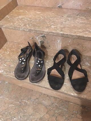 Pack sandalias