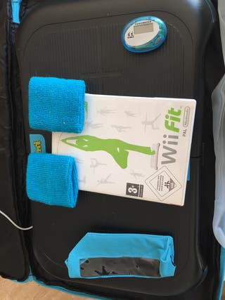 Wii fit + tabla + pesas + complementos