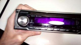 Radio/CD para coche Kenwood