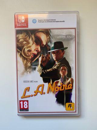 Juego LA NOIRE para Nintendo Switch