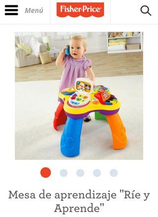 mesa fisher price juguete