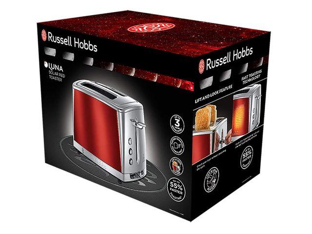 Russell Hobbs 23220-56 Tostador, Acero Inoxidable