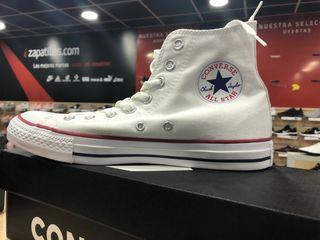 Zapatillas bota Converse blancaa