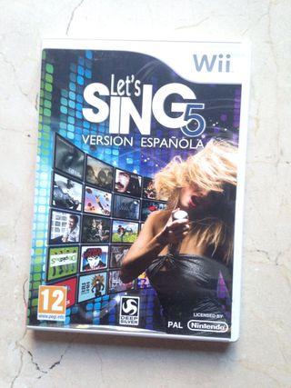 Let's sing 5. Versión española