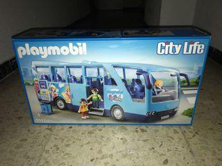 Playmobil autobús funpark a estrenar