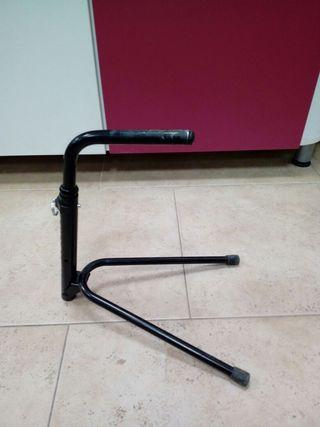 soporte bicicleta al eje