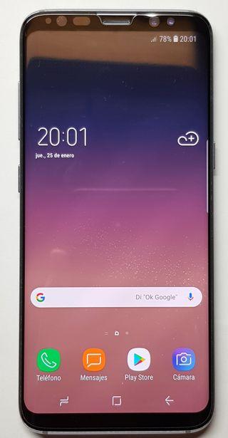 Samsung S8 4/64Gb + Gear VR, cargador qi y fundas