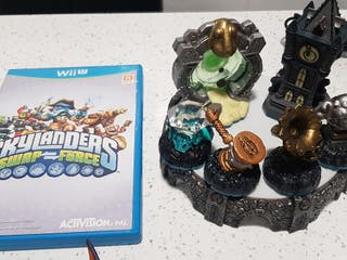 skylanders swap force wii u con expansiones