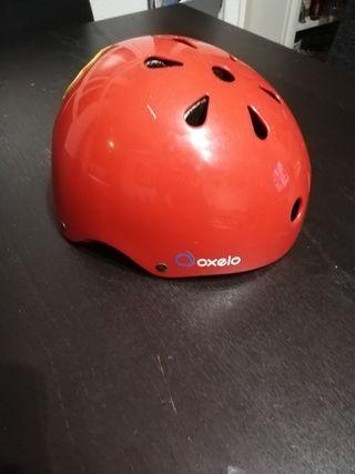 casco Oxelo, talla 5- 6 años, 48-52 cm