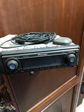 Radio pioneer con navegador