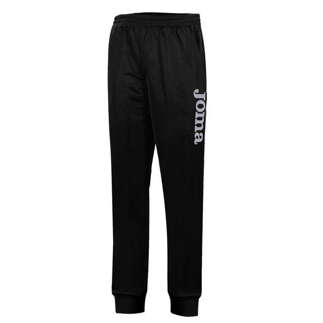 joma pantalon largo polyfleece suez negro