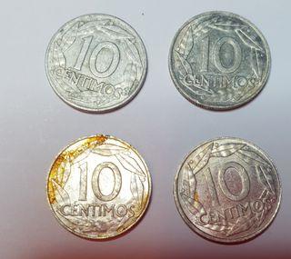 Moneda 10 céntimos de 1959