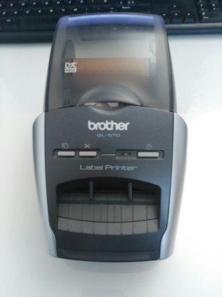 impresora etiquetas brother ql-570