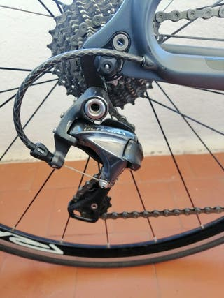Bicicleta carretera CKT monocasco carbono talla L