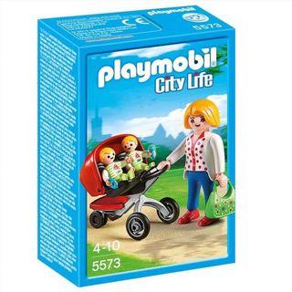 Mama carrito gemelos Playmobil City Life