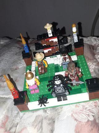 LOTE DE LEGO HOMBRE ARAÑA