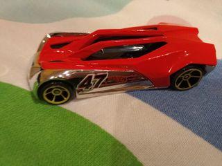 coche rojo hot wheels