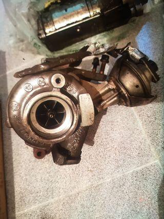 Turbo peugeot 407.